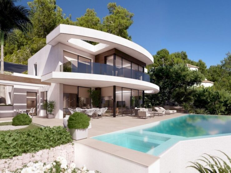 Luxury Villa – New development with panoramic views overlooking the entire coast!