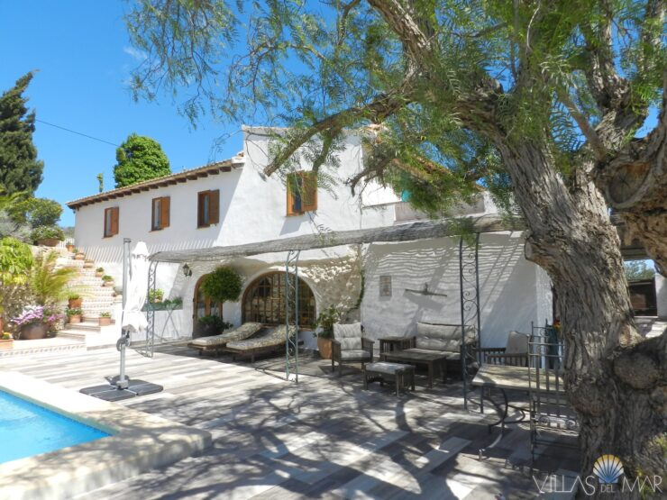 Teulada – Unique finca estate with separate guest house!